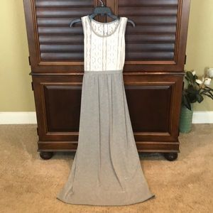 Gray Maxi Dress size XS